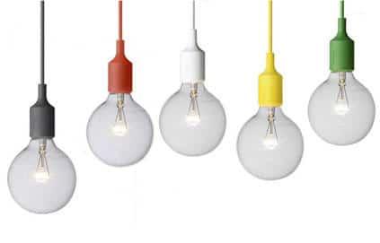 La d coration par l 39 ampoule blog decoration maison for Suspension grosse ampoule design