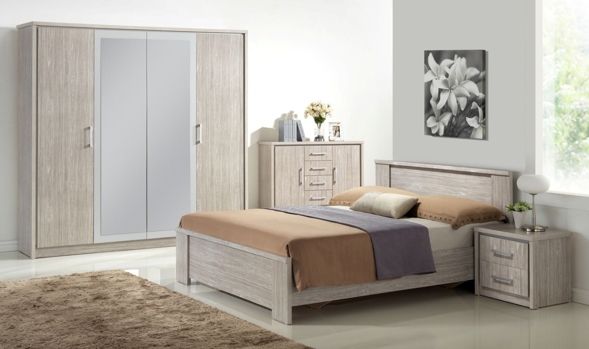 comment d corer sa chambre la contemporaine blog. Black Bedroom Furniture Sets. Home Design Ideas