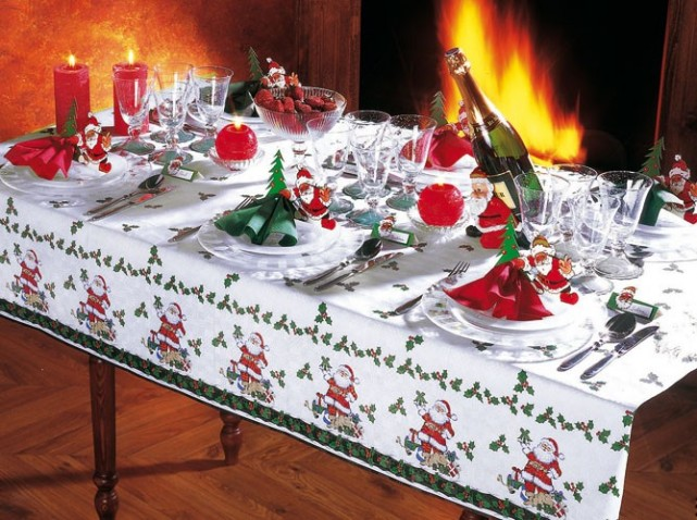 La tendance d co pour no l 2015 blog decoration maison - Deco de noel de table ...