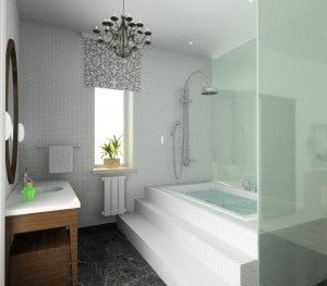 Comment r ussir bien am nager une petite salle de bain - Tour de rangement salle de bain ...