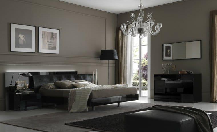 La couleur gris clair pour une chambre parentale zen o la for Couleur tendance pour chambre parentale