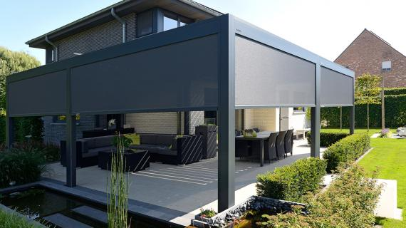 la pergola alu le top pour une terrasse ou un jardin. Black Bedroom Furniture Sets. Home Design Ideas