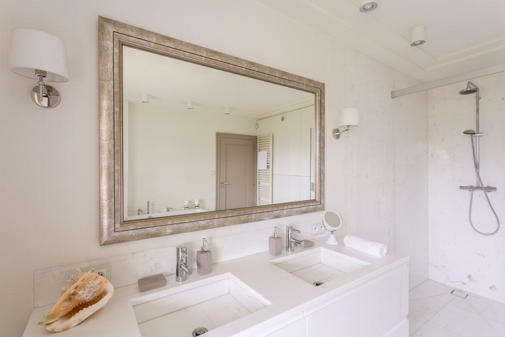Miroir bois blog decoration maison for Miroir deco bois