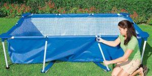 piscine autoportée installation
