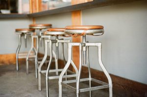 tabouret bar vintage