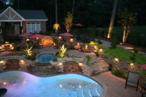 éclairage-extérieur-moderne-jardin