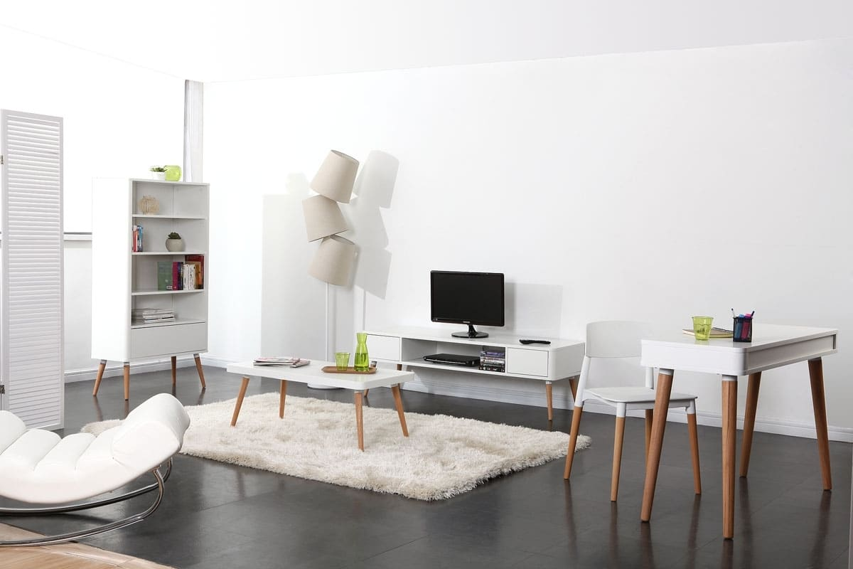 Int grer le style scandinave dans votre int rieur blog for Deco salon style scandinave