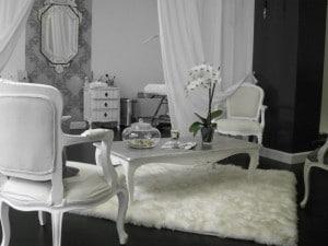 chaise baroque deco