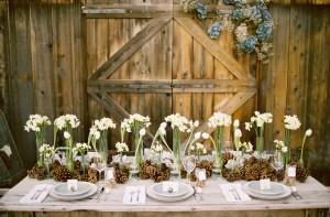 Les bonnes raisons pour céder à la déco champêtre le jour de votre mariage