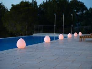 lampe piscine