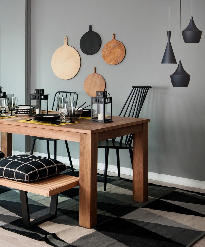 Table Bois Design Blog Decoration Maison