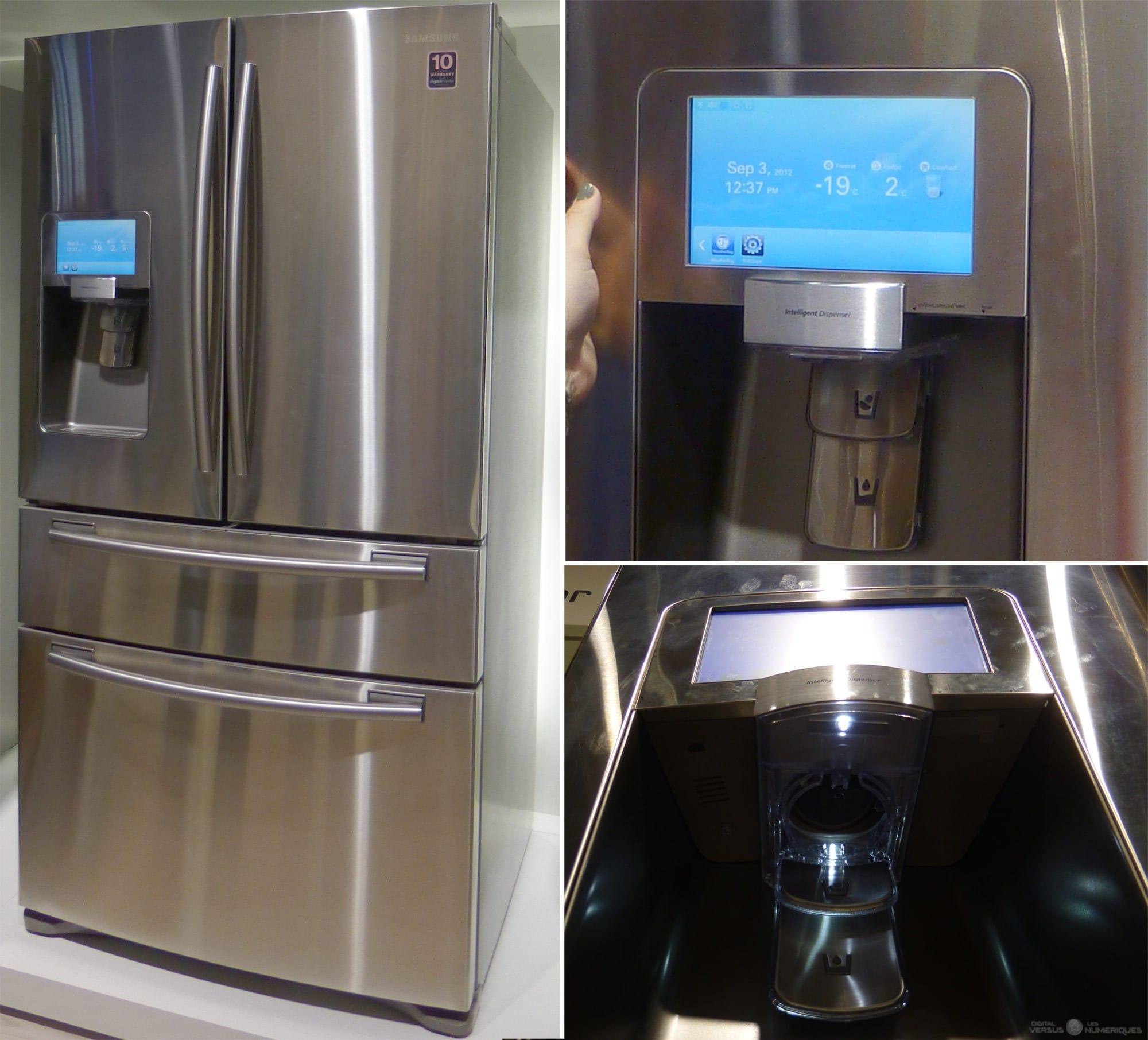 refrigerateur connecté