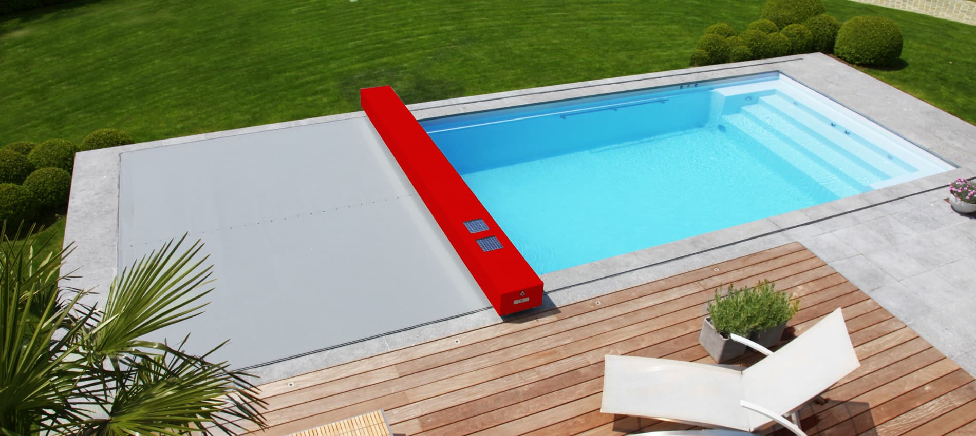 Couverture de securite pour piscine filet d 39 hivernage for Securite piscine