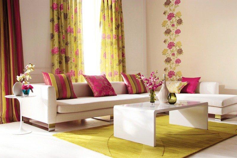 Des idées de rideaux pour votre salon - Blog Decoration Maison