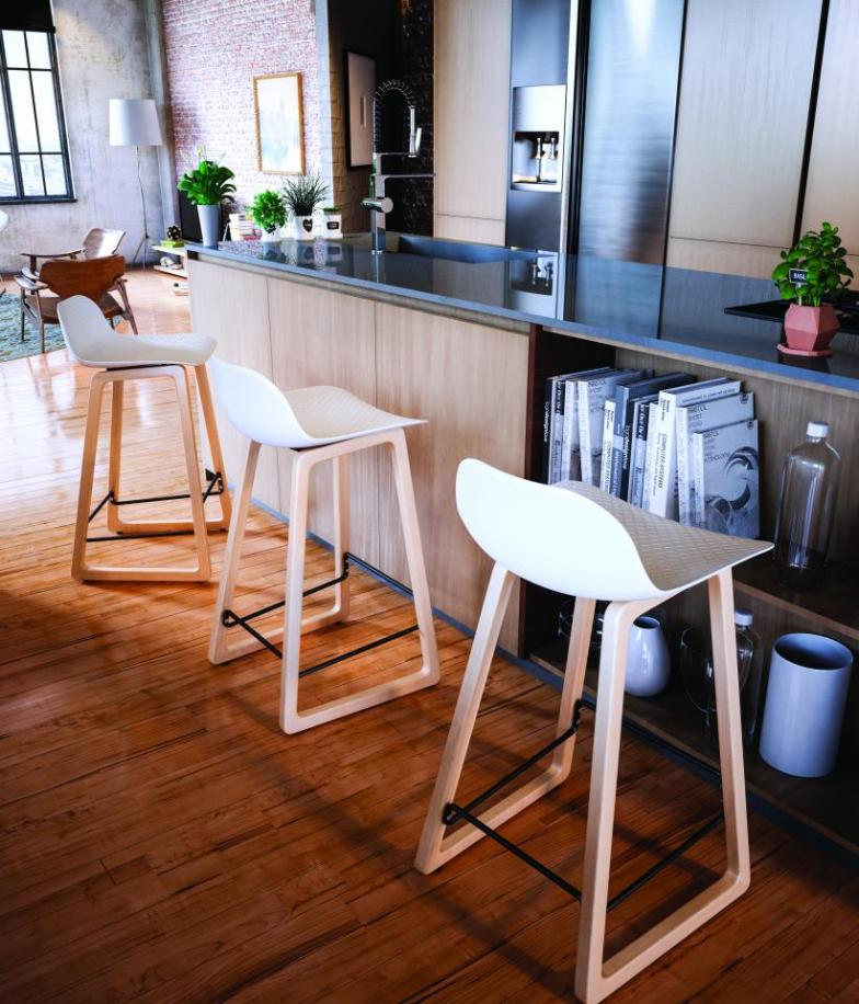 Tabourets de bar scandinave - Decoration de bar maison ...