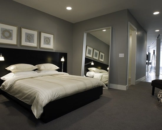Idee Deco Chambre Moderne On Decoration D Interieur Coucher Look ...
