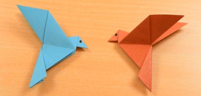 origami-facile-oiseau