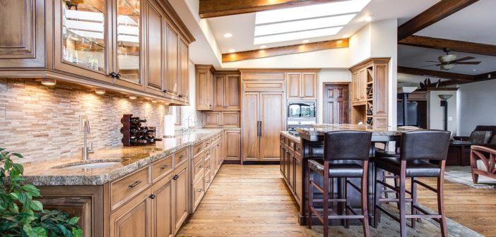 tendance de meuble moderne pour cuisine bois d ambiance authentique blog decoration maison. Black Bedroom Furniture Sets. Home Design Ideas
