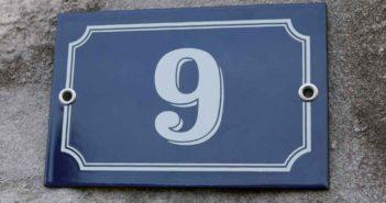 plaque numero maison