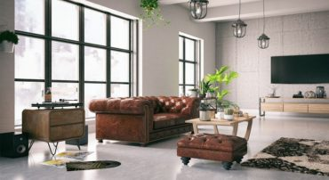 canape chesterfield