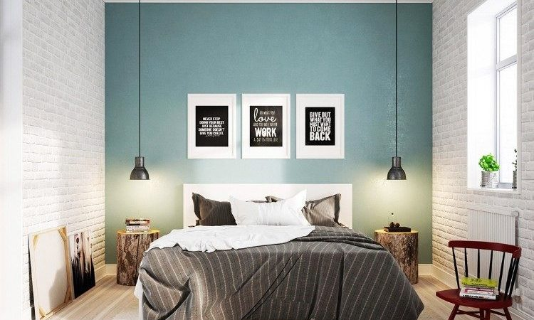 mur-daccent-chambre-à-coucher-ton-pastel