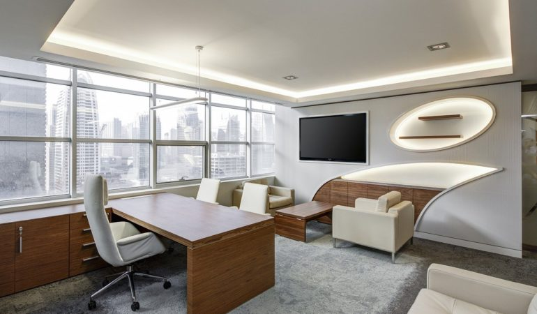 bureau confortable et ergonomique