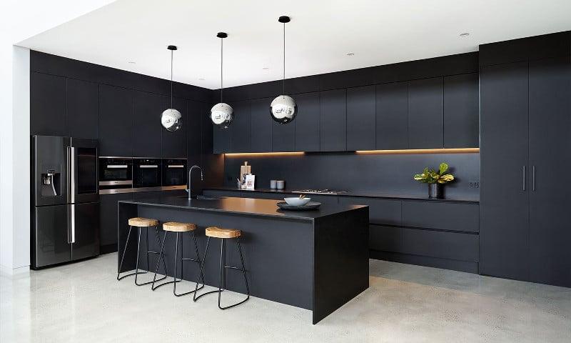 cuisine design noire
